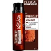 Loreal Paris Men Expert BarberClub Short Beard & Face Moisturiser hydratační péče pro krátké vousy a tvář 50 ml