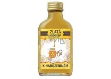 Bohemia Gifts & Cosmetics Zlatá medovina 18% K narodeninám 100 ml