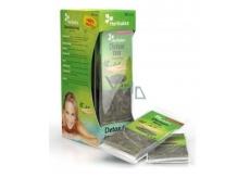 Herbalex Detoxikační bylinný čaj s ženšenem pro podporu trávení, posílení funkce střev a jater, posiluje lidské tělo 14 x 4 g