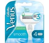 Gillette Venus Smooth Sensitive náhradné hlavice pre ženy 4 kusy