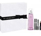 Givenchy Live Irresistible Blossom Crush toaletná voda pre ženy 50 ml + Noir Couture mini riasenka 01 Black Satin 4 g + Magic ceruzka na oči 01 Black 0,39 g, darčeková sada