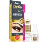 Delia Cosmetics Eyebrow Expert gélová farba na obočie a mihalnice s aktivátorom 1.1. Graphite - šedá 2 x 15 ml