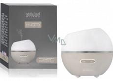 Millefiori Milano Hydro Polčas Sphere Dove Ultrazvukový difuzér sklenený - Moderné prevoňanie a zvlhčenie vzduchu