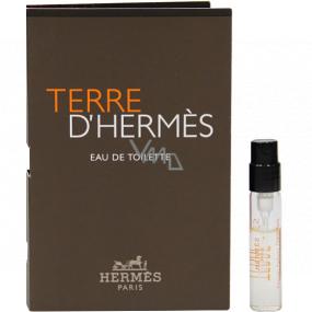 Hermes Terre D Hermes toaletná voda pre mužov 2 ml vialka