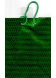 Nekupto Darčeková papierová taška na fľašu hologram standart 10 x 33 cm Zelená THLH