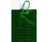 Nekupto Darčeková papierová taška hologram standart 10 x 33 cm Zelená THLH