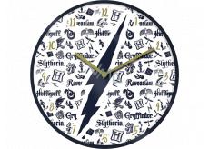 Epee Merch Harry Potter Nástenné hodiny 24,5 x 24,5 cm