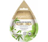 Marion Vegan Drop Konope & zelený íl vyhladzujúce maska pre suché, kučeravé vlasy 20 ml