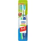 Oral-B 3-Effect Natural Fresh strednej zubná kefka 1 + 1 kus