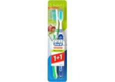 Oral-B 3-Effect Natural Fresh strednej zubná kefka 1 + 1 ks
