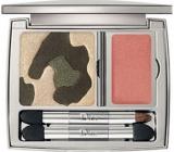 Dior Golden Jungle paletka 3 očních stínů a 1 lesku na rty odstín 001 4,7 g