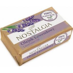Luksja Nostalgia Lavender Oil toaletní mýdlo 150 g