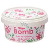 Bomb Cosmetics Revolúcia ruží - Rose Revolution Prírodné telové maslo ručne vyrobené 210 ml