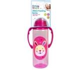 First Steps Jungle kojenecká láhev 0+ kojenecká láhev s úchopy Zajíček 250 ml