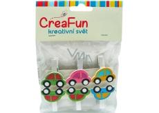 CreaFun Auto kolíček 6 kusov