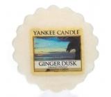Yankee Candle Ginger Dusk - Zázvorový súmrak vonný vosk do aromalampy 22 g