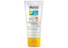 Astrid Sun Baby OF50 krém na opaľovanie na tvár a telo 75 ml
