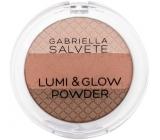 Gabriella salva Lumi & Glow Powder rozjasňujúci púder pre všetky typy pleti 01 9 g