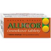 Naturvita Allicor cesnakové tablety zaistí maximum pôvodných látok čerstvého cesnaku 60 tabliet
