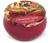 Heart & Home Čaro Vianoc Sójová vonná sviečka v plechovke horí až 30 hodín 125 g