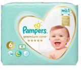 Pampers Premium Care 6 Extra Large 13+ kg plienkové nohavičky 38 kusov