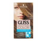Schwarzkopf Gliss Color farba na vlasy 7-0 Tmavo béžová blond 2 x 60 ml