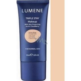 Lumene Double Stay minerálny make-up 03 Perfect Beige 30 ml