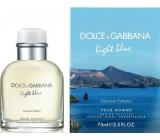 Dolce & Gabbana Light Blue pour Homme Vulcano toaletní voda 75 ml