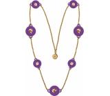 Ops! Objects Trésor Necklace náhrdelník OPSKCL-23-2400 fialová