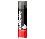 Gillette Classic Regular pena na holenie normálnu pleť pre mužov 200 ml