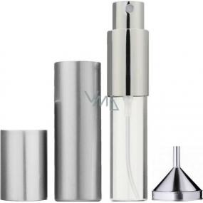 Flakón na parfum s rozprašovačom plniteľný rôzne farby 8575