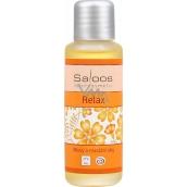 Saloos Relax telový a masážny olej navodzuje príjemnú náladu, relax, spánok 50 ml