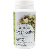 Dr.Bojda Green Coffee zelená káva extra silná k znižovaniu hmotnosti 4000 mg 60 tabliet