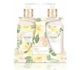Baylis & Harding Citrónové kvety a Biela ruža tekuté mydlo 300 ml + mlieko na ruky 300 ml kosmetiská sada