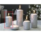 Lima Ľadová sviečka strieborná valec 60 x 90 mm 1 kus