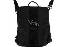 Albi Eko batoh alá kabelka vyrobený z pratelného papiera Čierny 33 x 25 x 11 cm