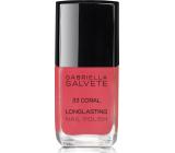 Gabriella salva Longlasting Enamel dlhotrvajúci lak na nechty s vysokým leskem33 Coral 11 ml