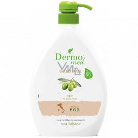 Dermomed Bio Oliva krémové tekuté mydlo dávkovač 600 ml