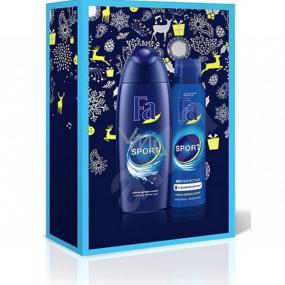 Fa Men Sport sprchový gel 250 ml + dezodorant sprej 150 ml, kozmetická sada