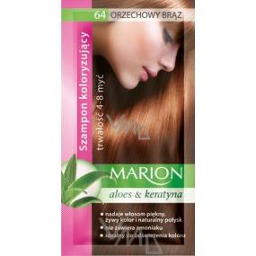 Marion Tónovacie šampón 64 Orechovo hnedá 40 ml