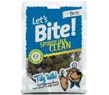 Brit Lets Bite Spirulina Clean dental kousky se spirulinou 150 g