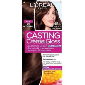 Loreal Paris Casting Creme Gloss Farba na vlasy 454 brownie