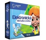 Albi Kúzelné čítanie Ceruzka elektronická + interaktívna hovoriace kniha Atlas sveta, sada, vek 6+