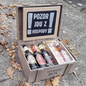 Bohemia Gifts Pre pivárov darčekový kôš
