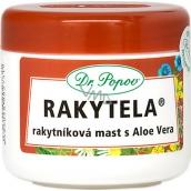 Dr. Popov Rakytela Rakytníková masť s Aloe Vera upokojuje, hydratuje normálnu aj vysušenú pokožku, vhodná aj na starostlivosť o jazvy, spáleniny a omrzliny 50 ml