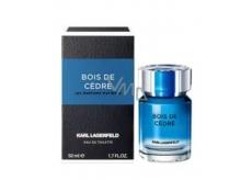 Karl Lagerfeld Bois de Cedre toaletná voda pre mužov 50 ml