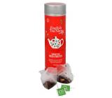 English Tea Shop Bio Korenisté červené ovocie 15 kusov biologicky odbúrateľných pyramidek čaju v recyklovateľné plechovej dóze 30 g
