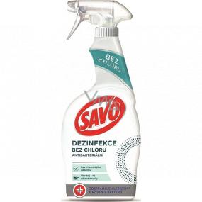 Savo Dezinfekcia bez chlóru antibakteriálny čistiaci prostriedok rozprašovač 700 ml