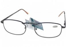 Berkeley Čítacie dioptrické okuliare +1,5 hnedé kov 1 kus MC2005
