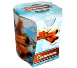 Admit Verona Cinnamon - Škorica vonná sviečka v skle 90 g
